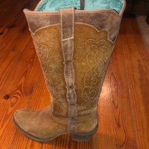 Tall cowgirl boots
